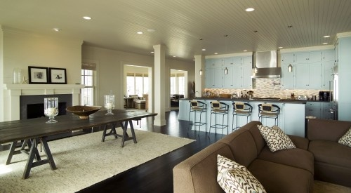 Open floor plan beach house home crush pinterest for Open plan beach house designs