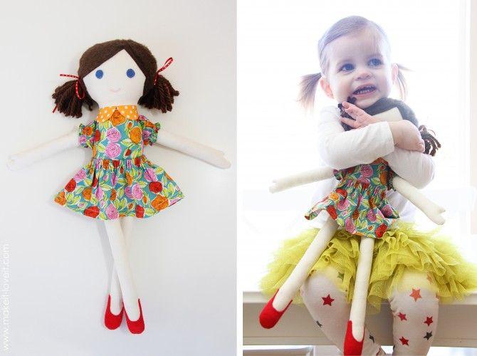 Как сделать куклу своими руками быстро и легко