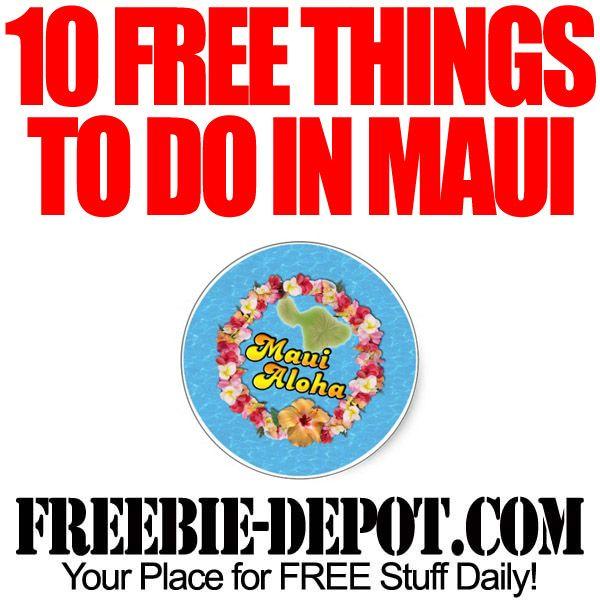 fun free things to do in maui