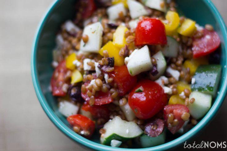 Greek Wheat Berry Salad | Recipe