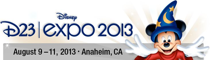 D23 Expo 2013 Will Be Bigger and Better! Tickets Go On Sale August 9