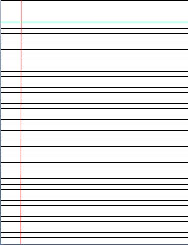 lined notebook paper template word | trattorialeondoro