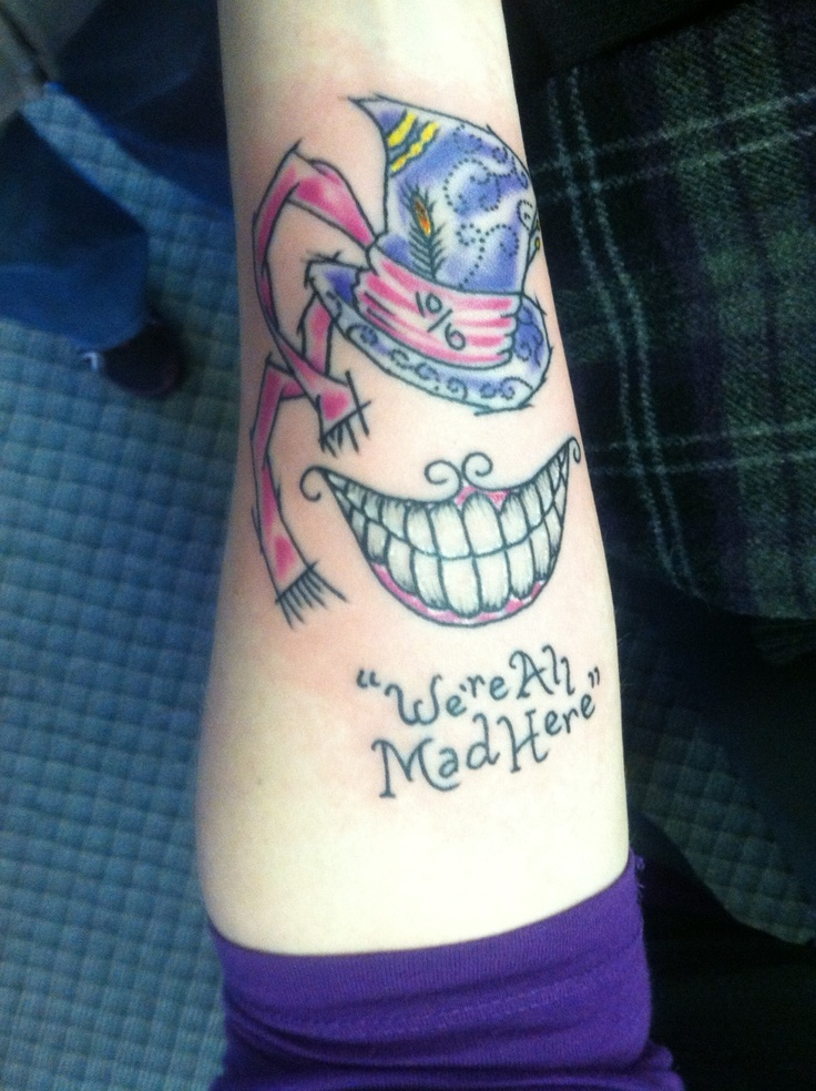 Mad Hatter Tattoo | Tattoo Ideas | Pinterest