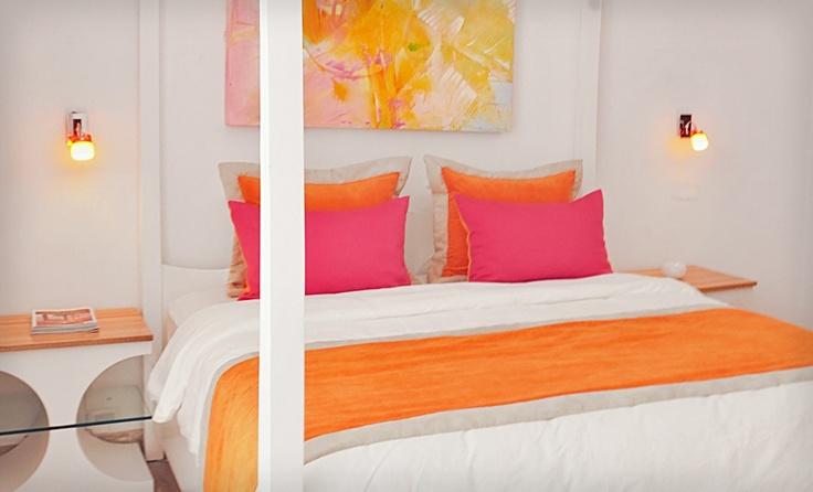 hamaca suites pink and orange bedroom new bed room pinterest