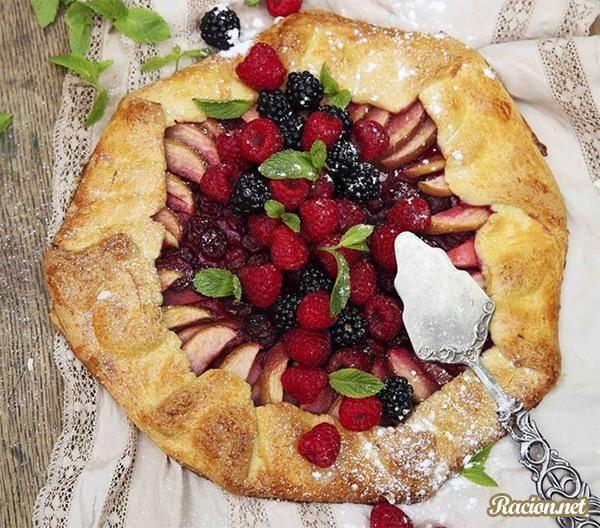 Рецепты пирогов с фруктами и ягодами