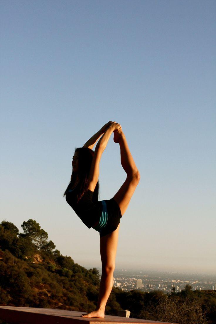 dancer pose | Yoga for You | Pinterest