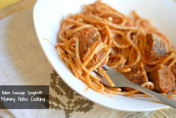 Italian Sausage Spaghetti | Recipe