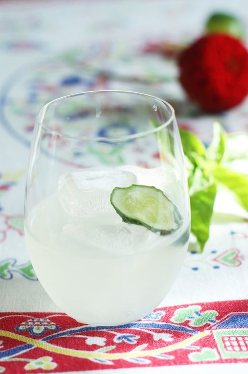 Cocktail Friday: Cucumber Basil Gimlet | Set the TableSet the Table