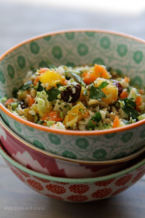 shredded veggie detox salad | Great Recipes | Pinterest