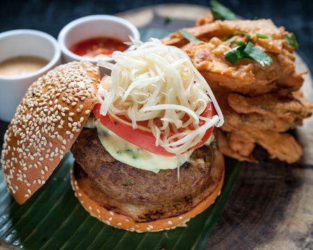 Ngam's Thai Burger Recipe | Recipes Recipes Recipes | Pinterest