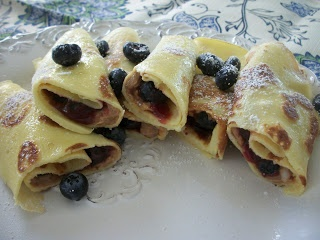 Cook with Sara: Peanut Butter and Jelly Crepes