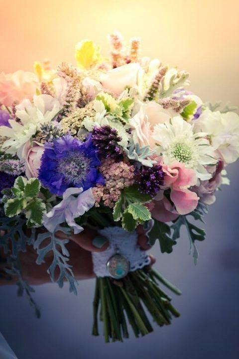 September Wedding Bouquet Summer Wedding Flowers English Seasonal