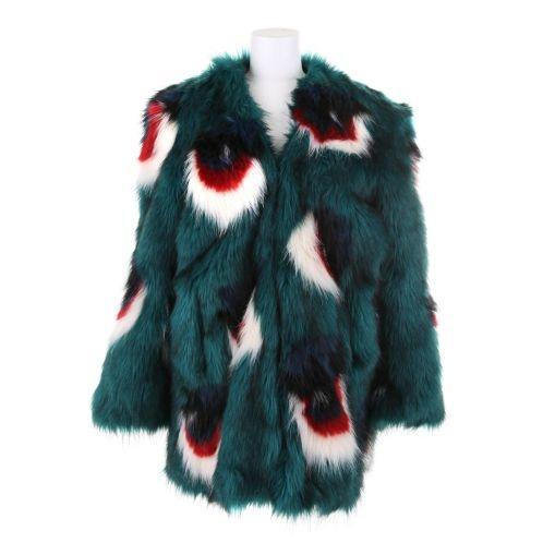 MEADHAM KIRCHHOFF Eyeball fur coat