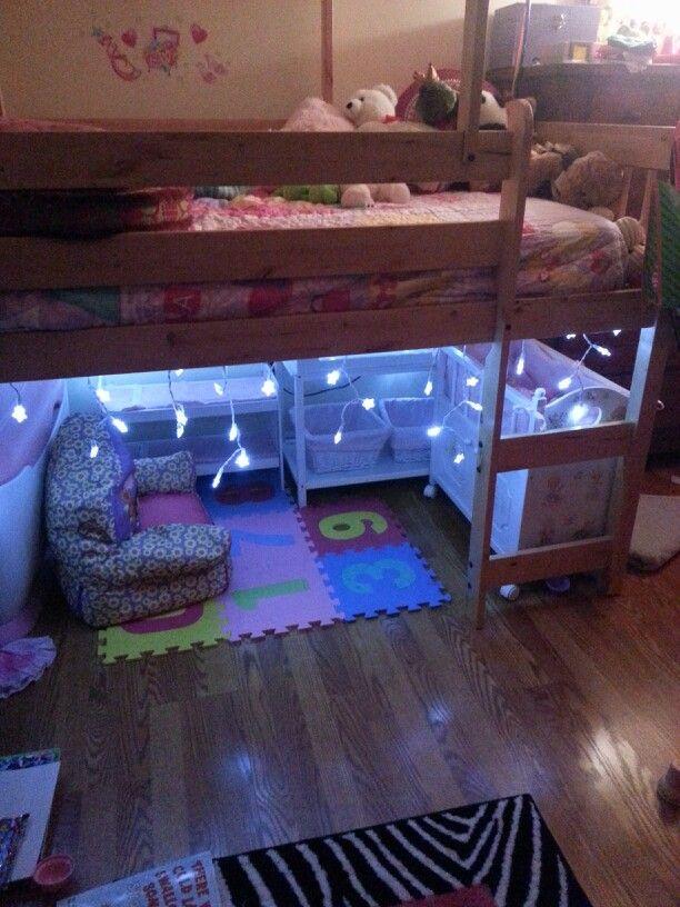 Best Play Space Under Loft Bed Diy Crafts That I Love 400 x 300