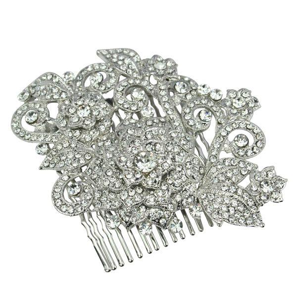 Rosetta Swarovski Luxe Bridal Comb