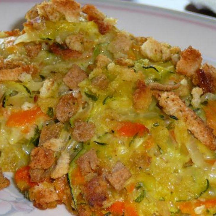 Zucchini Stuffing Casserole Recipe | Yummy! {Meals} | Pinterest