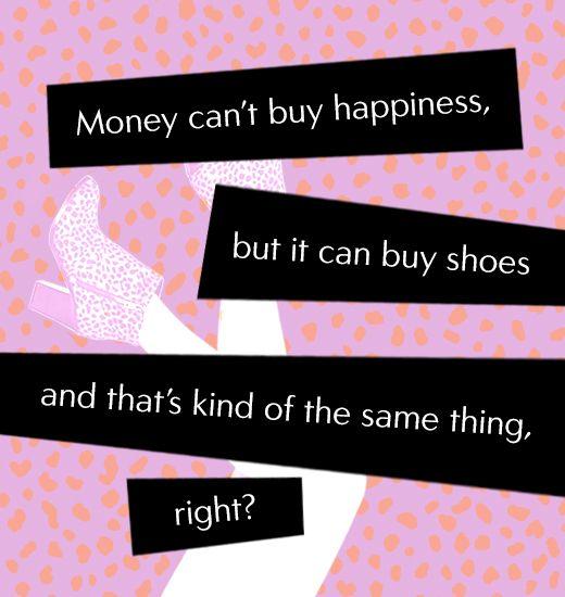 Shoe Fashion Quote