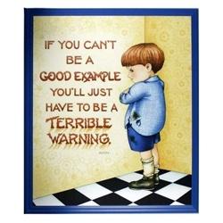 good example or terrible warning ;)