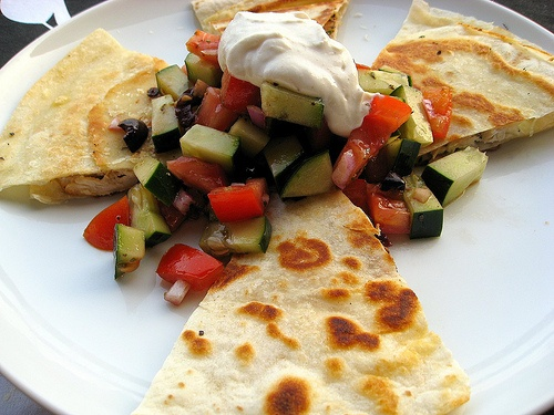 ... chicken quesadilla asian quesadilla with chicken zucchini hoisin sauce