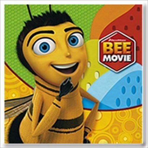 Bee Movie Large Napkins | Bee Movie Birthday Party Ideas, Decorations ...