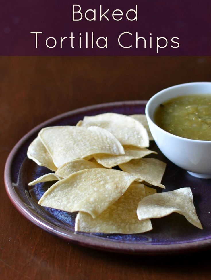 Baked Tortilla Chips from Real Food Real Deals