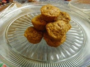 Mini Sweet Potato Muffins (10 Months +) (sub honey with more maple ...
