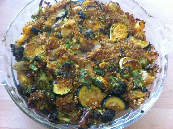quinoa breakfast bake | Healthy Breakfast Ideas | Pinterest