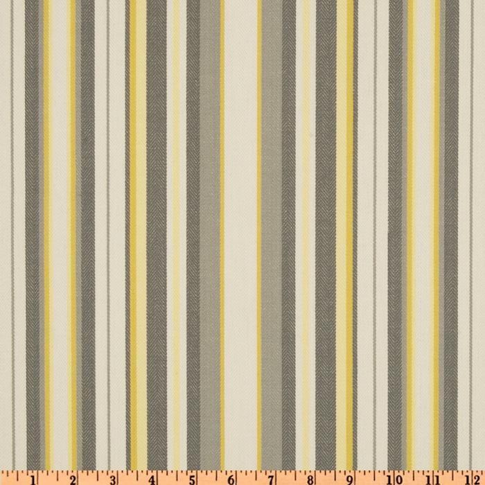 suburban home nalani stripe grey lemon fabric wallpaper