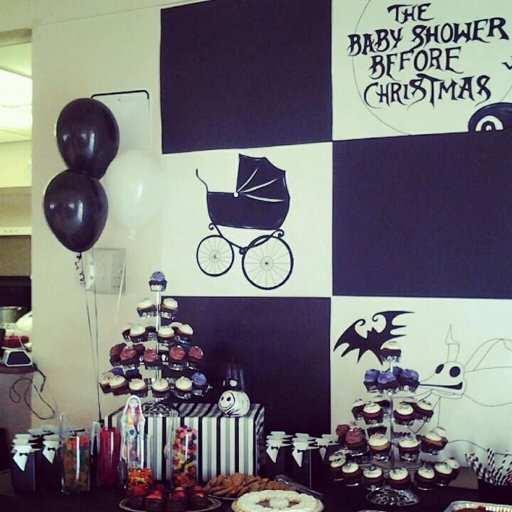 nightmare before christmas baby shower ideas pinterest