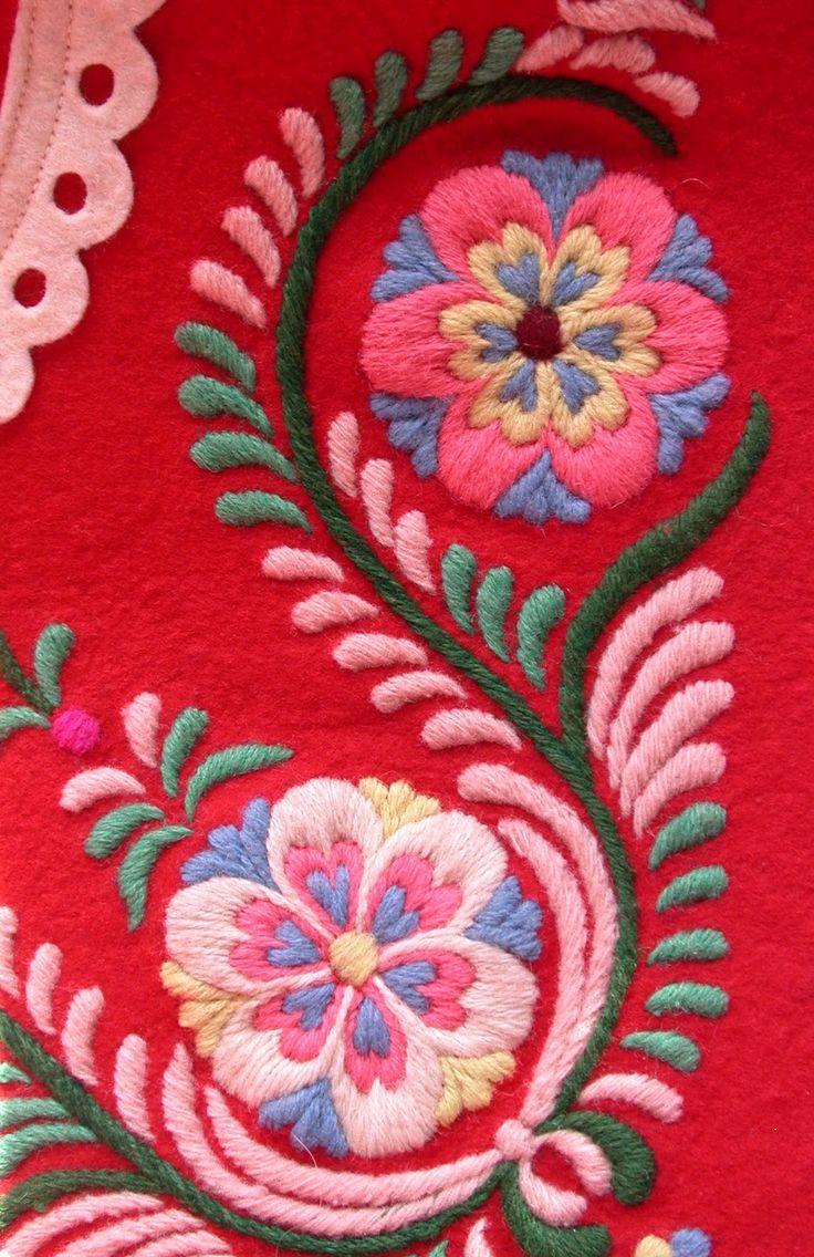 Swedish sweden embroidery pinterest