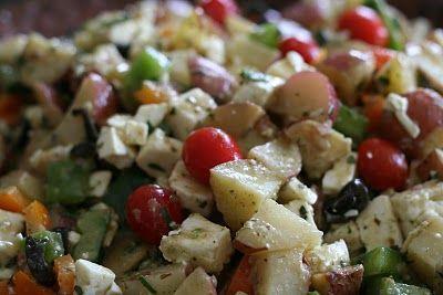Lisas Greek Potato Salad | Food and Food Ideas | Pinterest