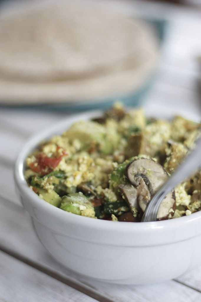 Vegan Breakfast Burritos | Breakfast Time | Pinterest