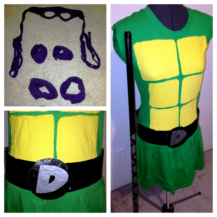 Adult ninja turtle costume diy