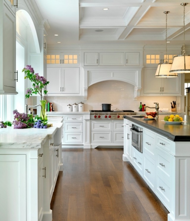 Gorgeous Kitchens Awesome With Big White Kitchen Images