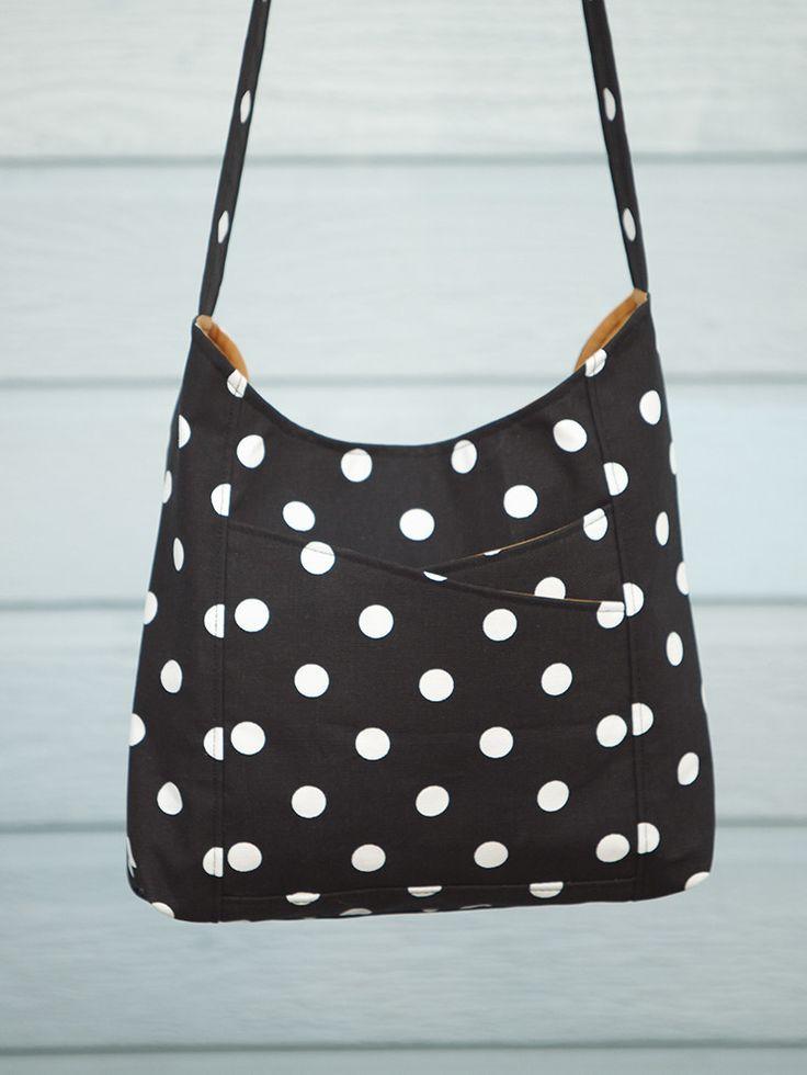 Sling Bag Pattern Free Download : Weekend Sling Bag Sewing Pattern $7 sewing Pinterest
