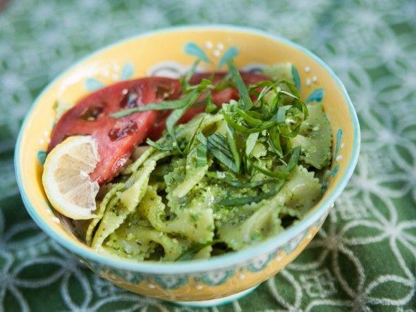 Lemon Basil and Arugula Pesto | Recipe