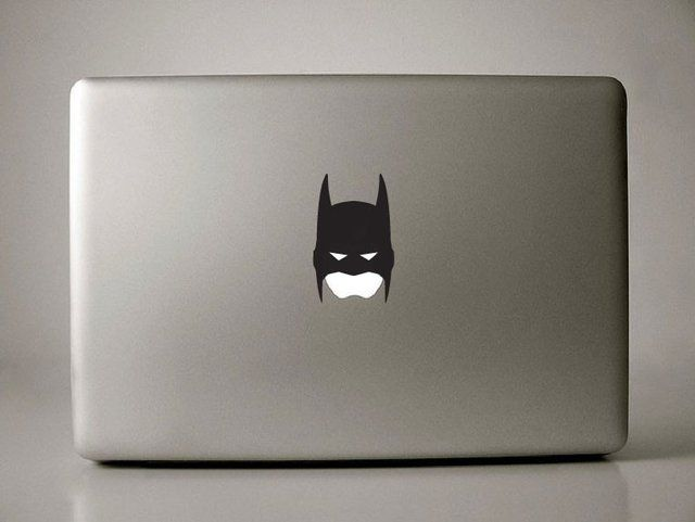 Batman Macbook decal (also available for iPhones and iPads)