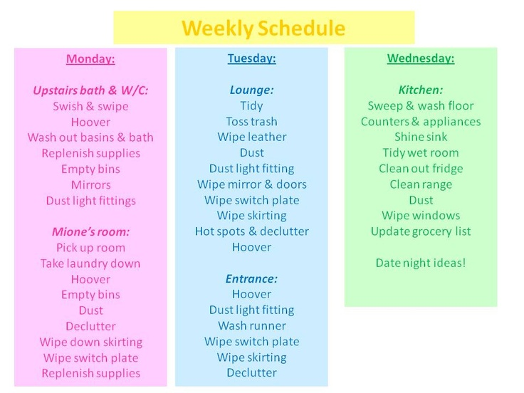 sfu how to show weekly schedule