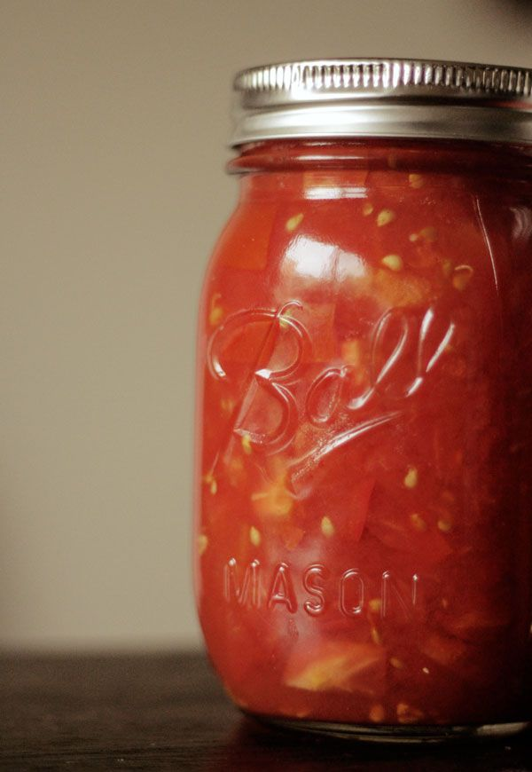 Canned diced tomatoes | Food Glorious Food | Pinterest
