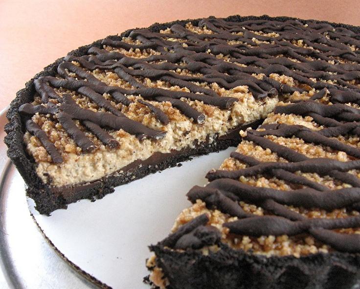 Chocolate Espresso Praline Tart | Pies / Tarts | Pinterest