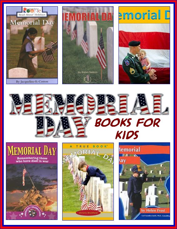 memorial day books for toddlers