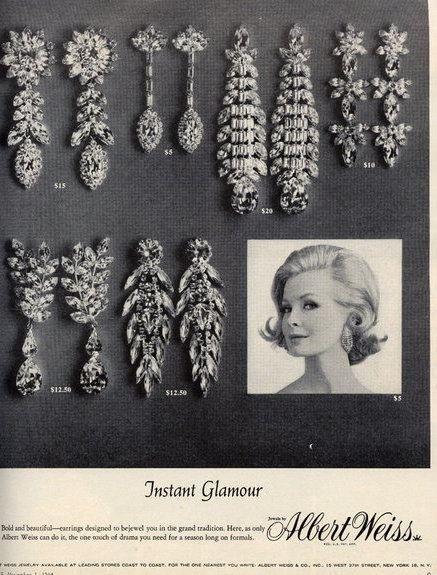 Vintage Jewelry Ad 80
