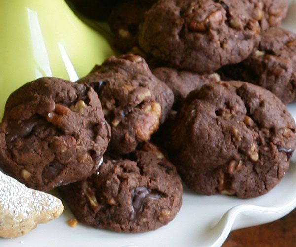 Chocolate Chunk Cookies with Dried Cherries & Pecans | Recipe
