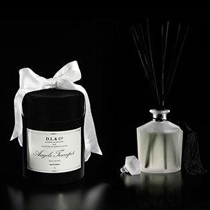 D.L. & Co Angel's Trumpet Diffuser - In black silk hat box with satin ribbon.