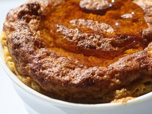 French in a Flash: Easy Pumpkin-Maple Breakfast Soufflés   Recipe