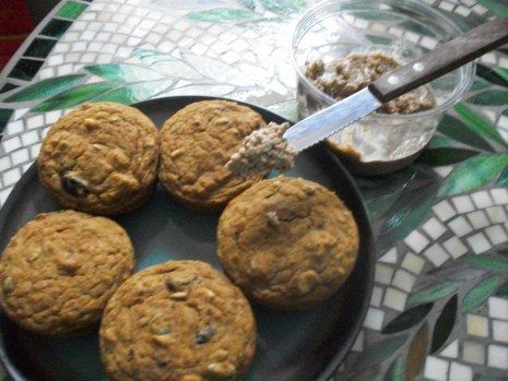 pumpkin nut muffins | Healthy Food Love | Pinterest