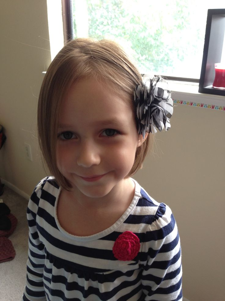 Ella donated her hair to locks of love | Hair cuts for my girls | Pin ...