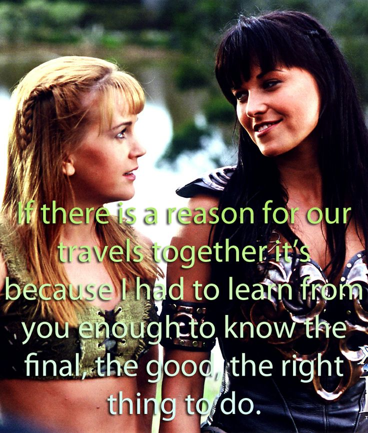 Xena and Gabriella Xena and Gabrielle pics and quotes Pinterest