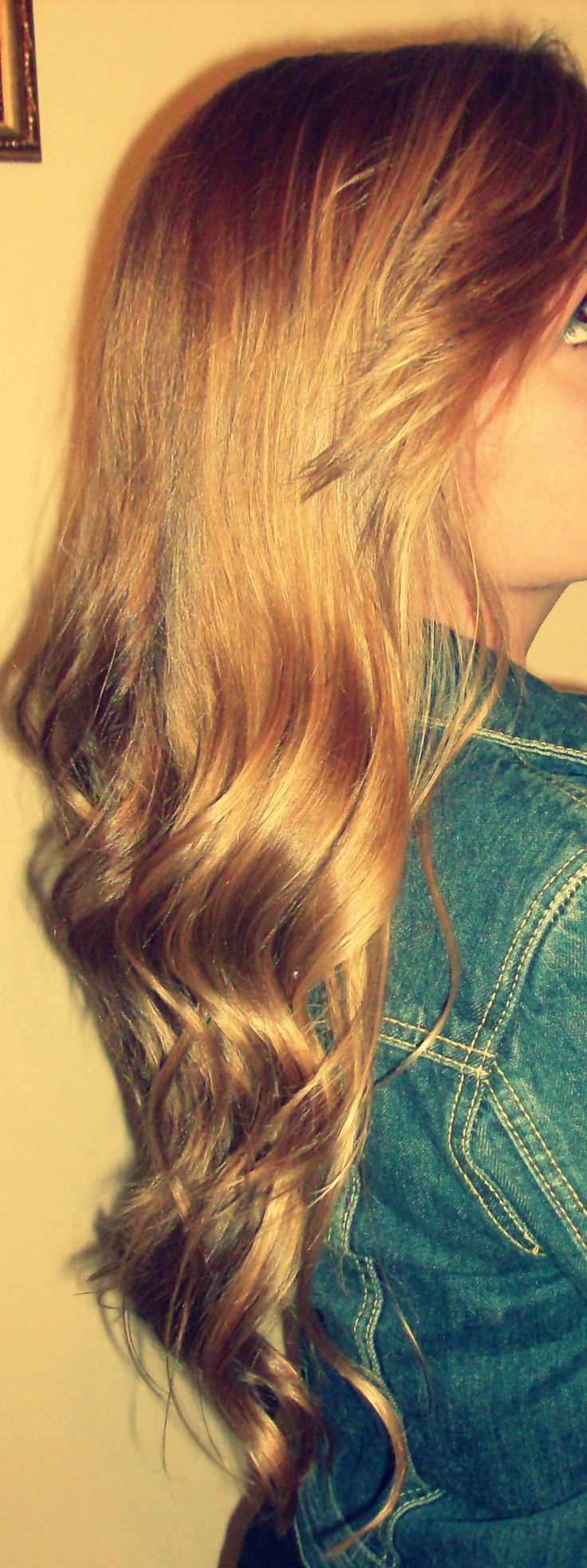 Long Curly Wavy Hair Hair Styles Amp Products Pinterest