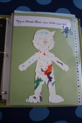 Kids Art Scrapbooking